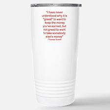 I HAVE NEVER UNDERSTOOD Stainless Steel Travel Mug