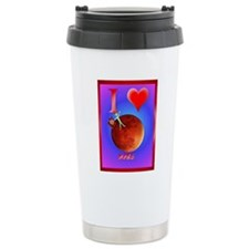 I Love Mars poster Travel Mug