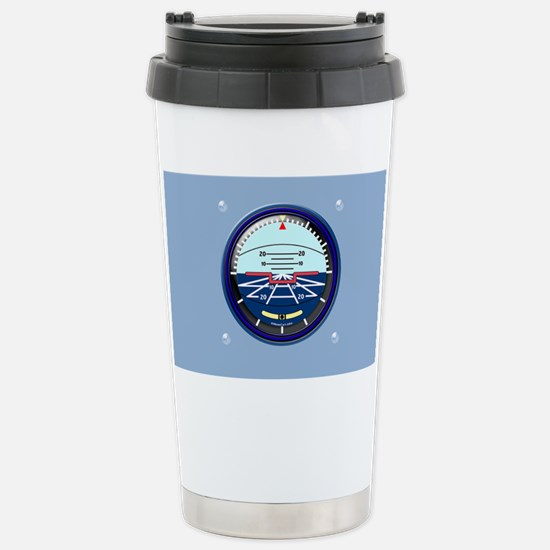 ArtHorizCoinPurse-b Stainless Steel Travel Mug