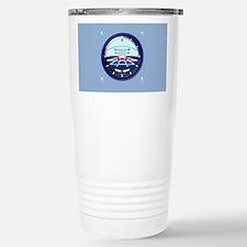 ArtHorizCoinPurse-b Travel Mug