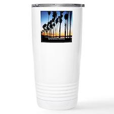 Sunset in Santa Barbara Travel Mug