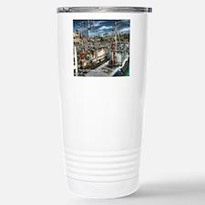 Santa Barbara Harbor Travel Mug