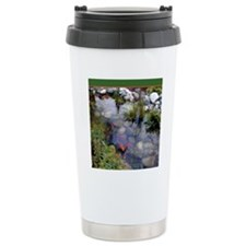 Koi Pond copy Travel Mug