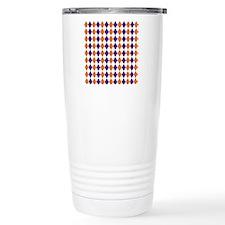 Clemson Argyle Sock Pat Travel Mug