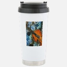 Fiddle Batik Travel Mug