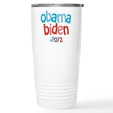 Obama Biden 2012 Travel Mug