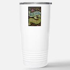 Buenos Aires fileteado Travel Mug