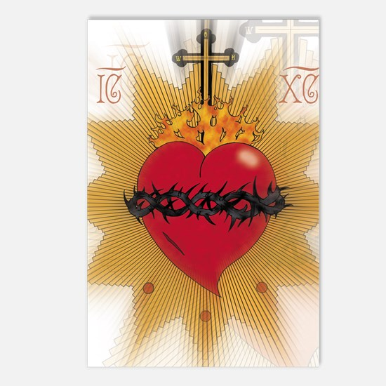 Sacred Heart Postcards (Package of 8)