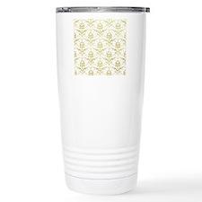 Vintage damask pattern  Travel Coffee Mug