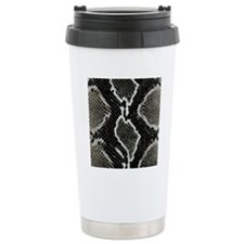 Real Snakeskin Travel Mug