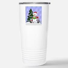 Christmas Racoons Travel Mug