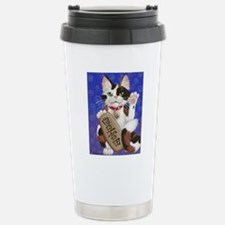 Maneki Neko of Abundanc Travel Mug