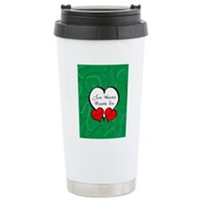 Red Green Two Hearts En Travel Mug