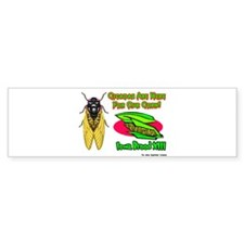 Cicada Iowa Corn Bumper Bumper Sticker