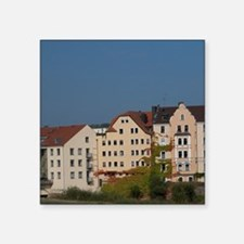 "Regensburg. Sorat Insel Hot Square Sticker 3"" x 3"""