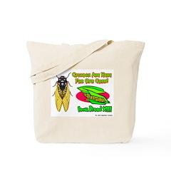 Cicada Iowa Corn Tote Bag