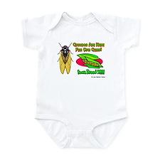 Cicada Iowa Corn Infant Bodysuit