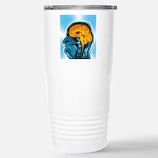 Normal brain, MRI scan Travel Mug