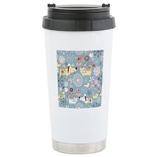 Dogs and Cats Travel Mug