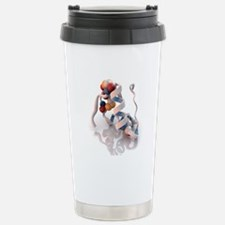Insulin molecule Stainless Steel Travel Mug