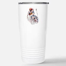 Insulin molecule Travel Mug