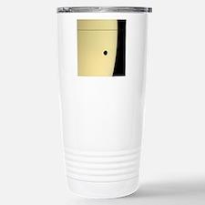 Saturn and its moon Tet Travel Mug