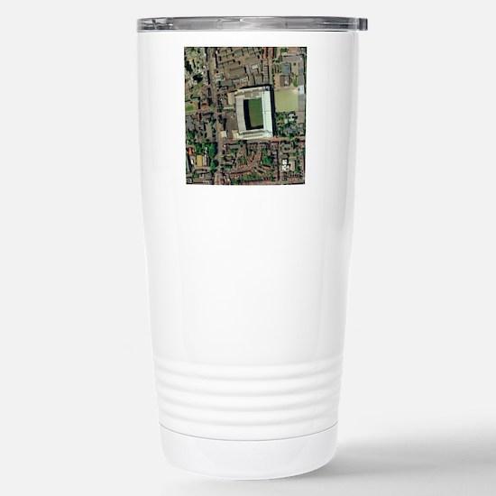 Tottenham Hotspur's Whi Stainless Steel Travel Mug