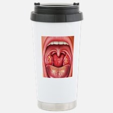 Tonsillitis Stainless Steel Travel Mug