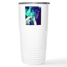 Woman smoking Travel Mug