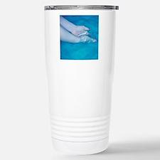 Washing hands Stainless Steel Travel Mug