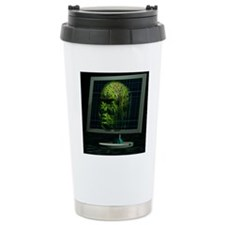 Artificial intelligence Travel Mug