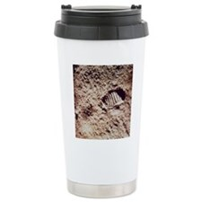 Apollo 11 footprint on  Travel Mug