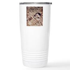 Apollo 11 footprint on  Travel Coffee Mug