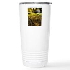 Golf ball on the green Travel Mug