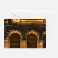 The house with Lions, Casa cu Lie Mu Greeting Card