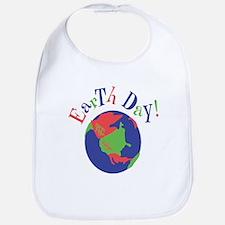 Support Earth Day Bib