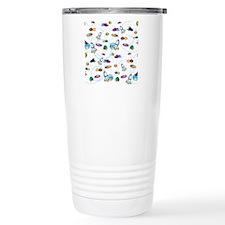 Spaceships Travel Mug