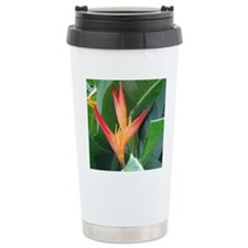 Bird of Paradise Travel Coffee Mug