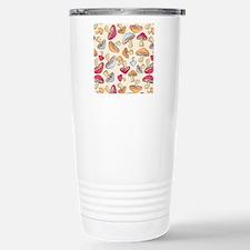 Mushroom_Cream_Large Travel Mug
