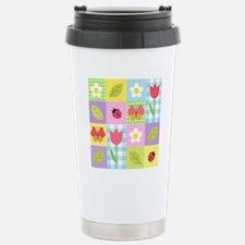 Colorful Patchwork Stainless Steel Travel Mug