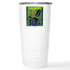 Kracken Awakes Green Travel Mug