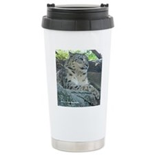 Adult Snow Leopard Travel Mug