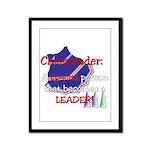 Cheerleader...A special Framed Panel Print