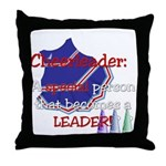 Cheerleader...A special Throw Pillow