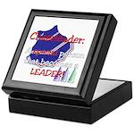 Cheerleader...A special Keepsake Box