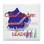 Cheerleader...A special Tile Coaster