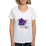 Cheerleader...A special Women's V-Neck T-Shirt