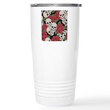 Skulls and Roses Travel Mug