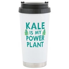 Kale is my power plant Thermos Mug
