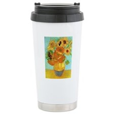 Still Life Vase with Tw Travel Mug